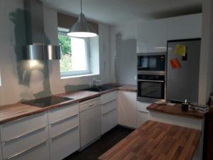 Pose de cuisine à Larmor-plage (3)
