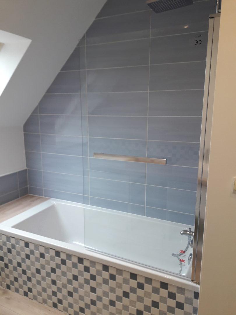 Rénovation salle de bain sur Lorient et Ploemeur baignoire