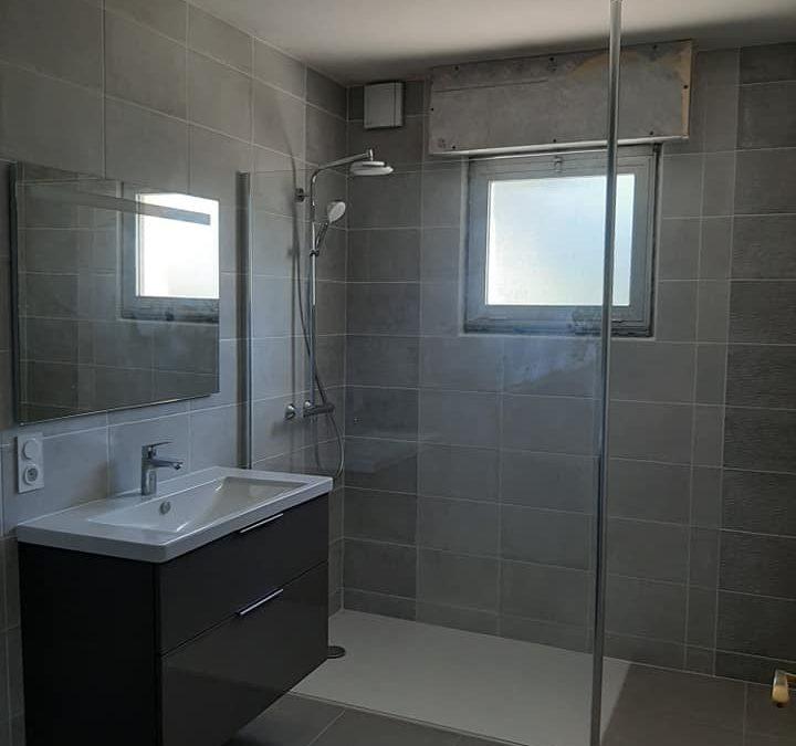 Rénovation totale d une salle de bain à Baud